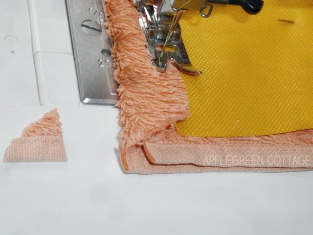 sewing diy mop pad