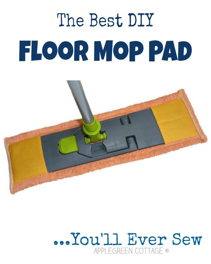 The Best Diy Mop Pads You Ll Ever Make Applegreen Cottage