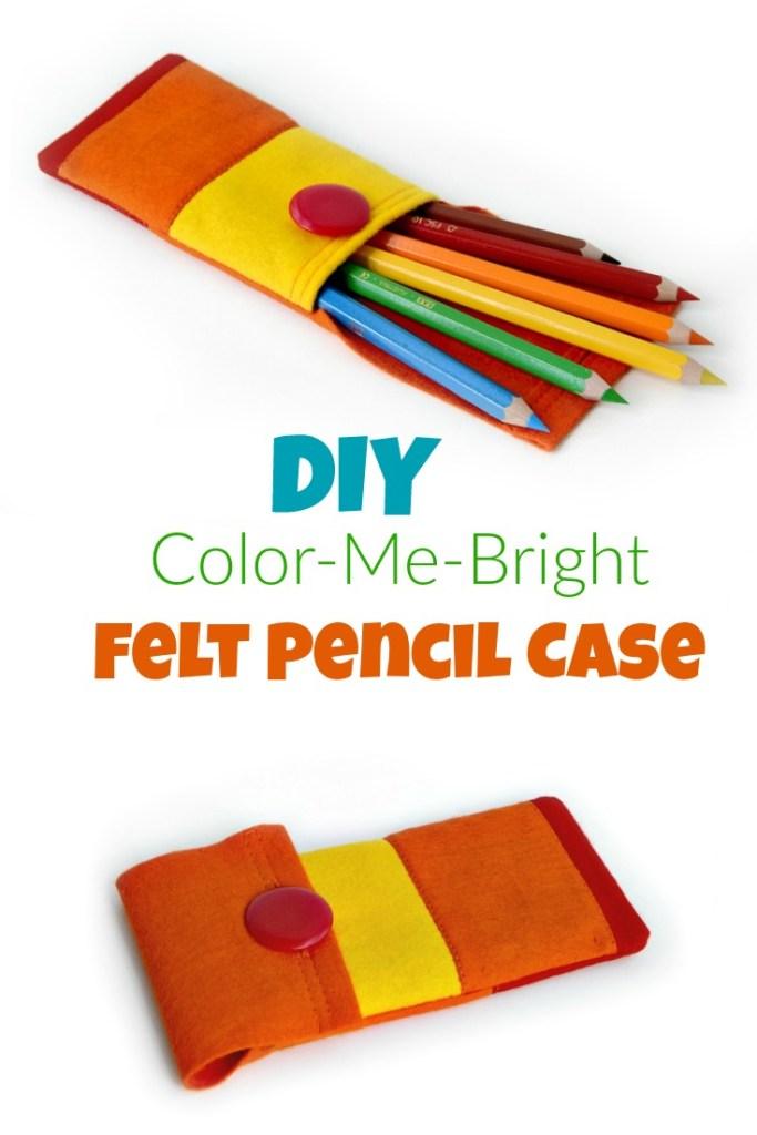 How To Make A Felt Pencil Case