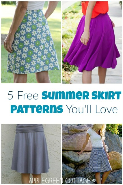 easy skirt patterns