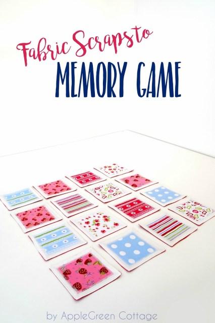 easy-sew memory game
