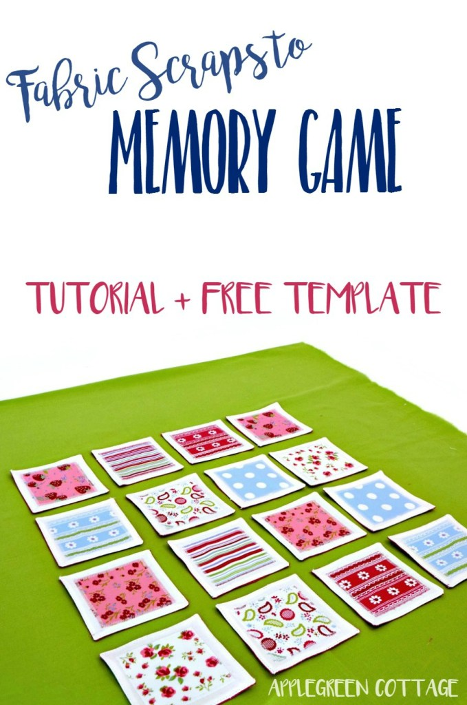 Fabric Memory Game – Tutorial Plus Free Template