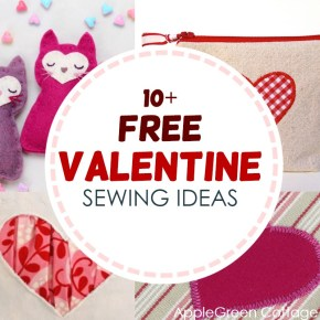 Valentine Sewing Ideas