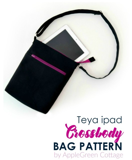 A PDF sewing pattern for a practical, hand-free cross-body bag, large enough to hold all your essentials neatly organized and easy to reach. It's just what you need for a short trip to the town, meeting a friend at your favorite cafe, or quick errands in the neighborhood. You'll love it. Check it out now!