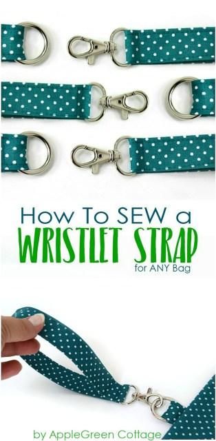 diw wristlet strap