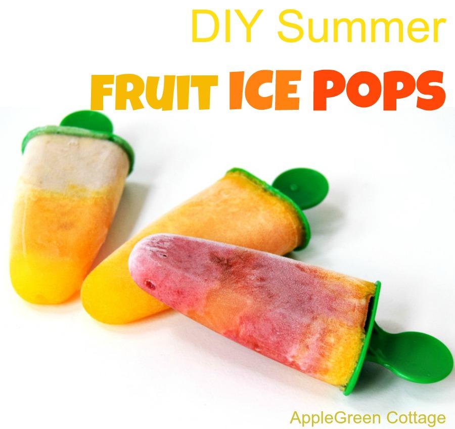 fruit ice pops recipes