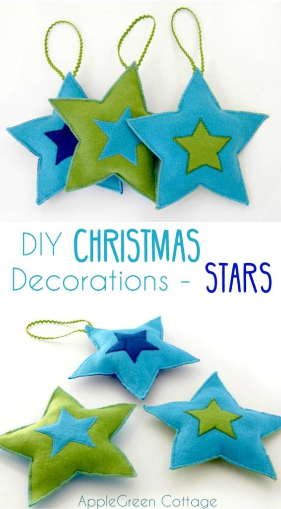 Diy Star Ornaments – Free Pattern