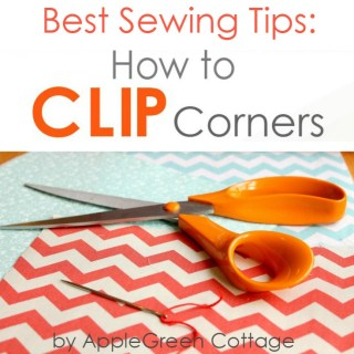 how to clip corners