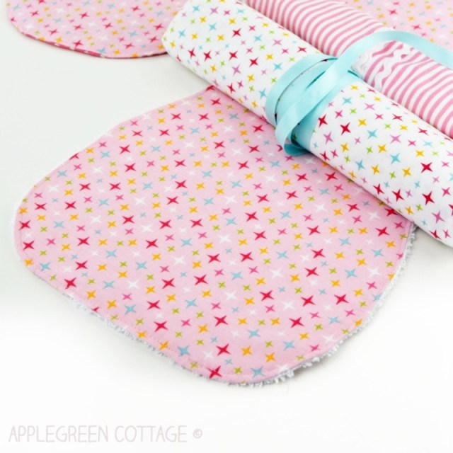 free baby pattern - burp cloth