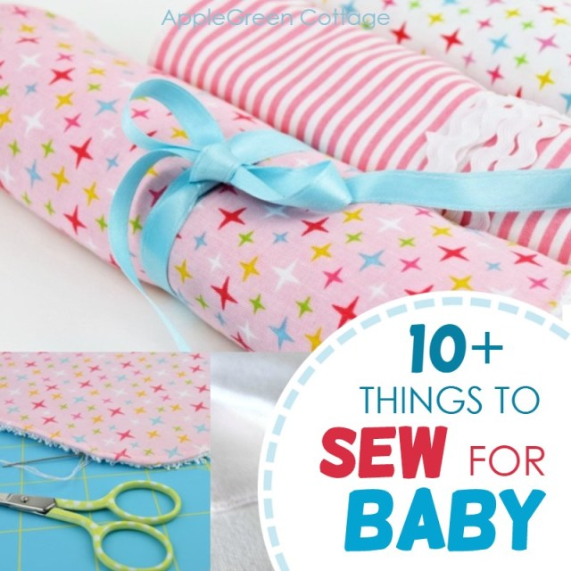 things to sew for baby