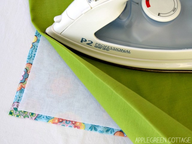 add fusible interfacing