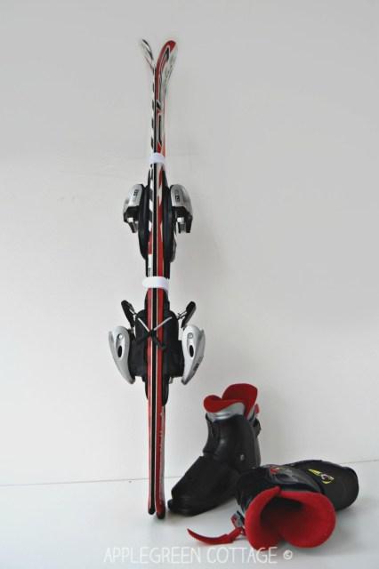 diy ski straps