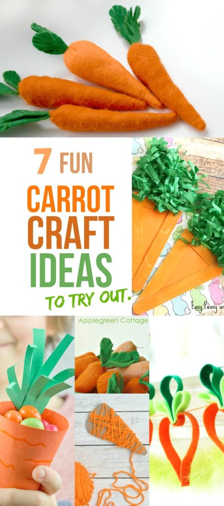 7 Fun Carrot Craft Ideas For Spring