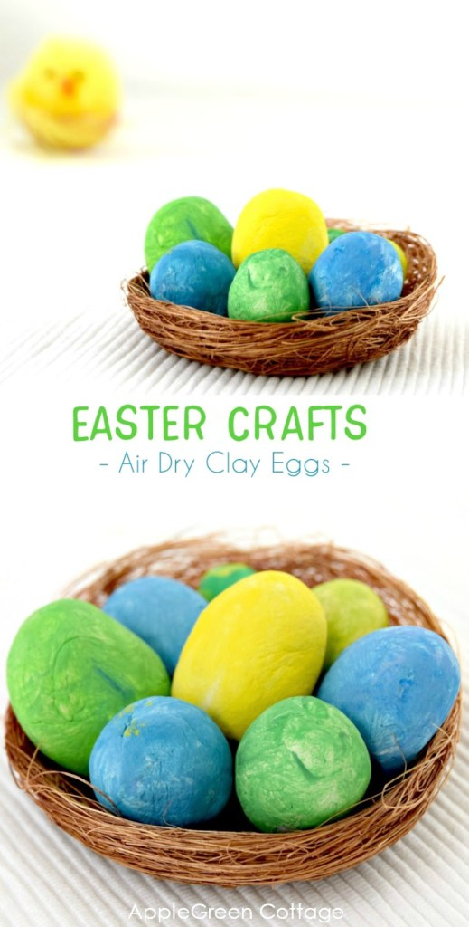 Air Dry Clay Crafts To Try Out This Easter