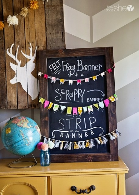 diy small garlands
