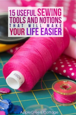 These sewing tools and notions will make your sewing life easier! Check out the sewing tools I rely on and believe will come in handy for your sewing projects. If you are a beginner, these are the tools that will get you started on your sewing journey.