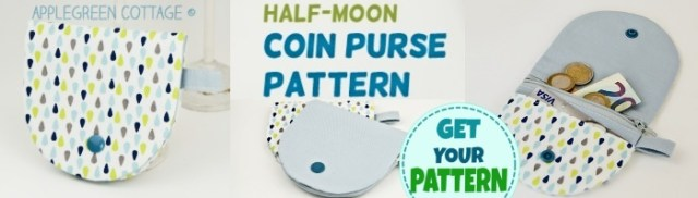 half-circle coin purse pattern