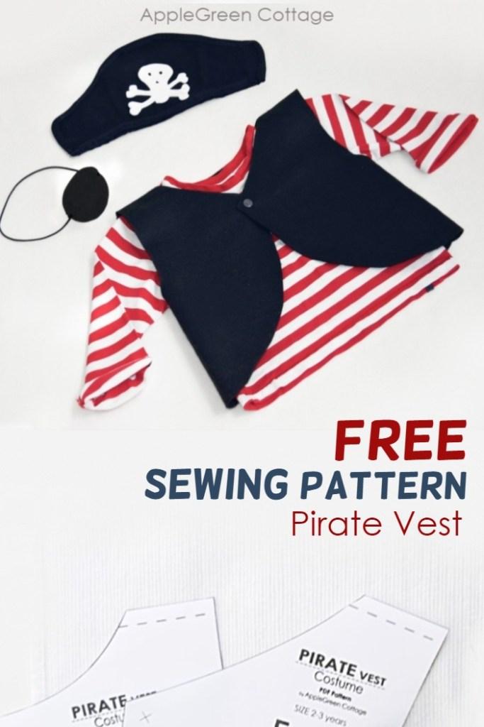 diy pirate costume pattern