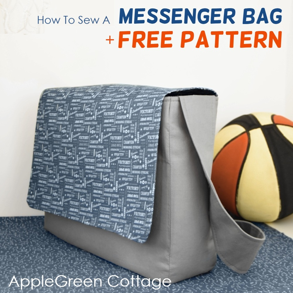 Messenger bag pattern