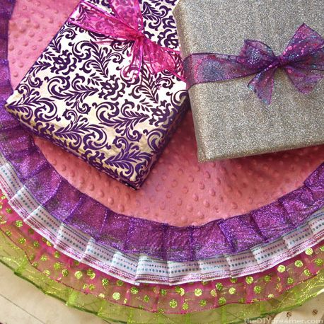 diy tree skirt Christmas project