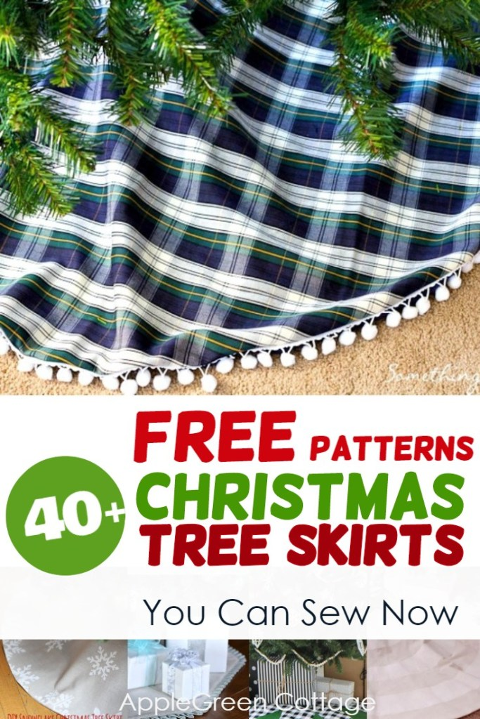 tree skirt free pattern