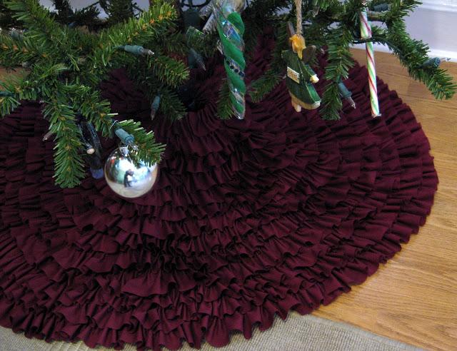 Christmas tree skirt project