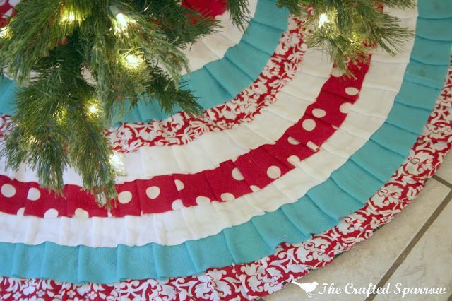 tree skirts diy