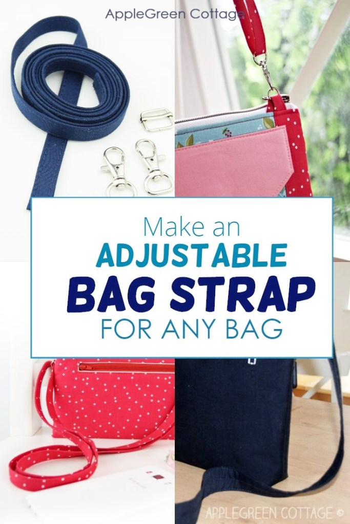 How To Make An Adjustable Strap – For Any Bag!