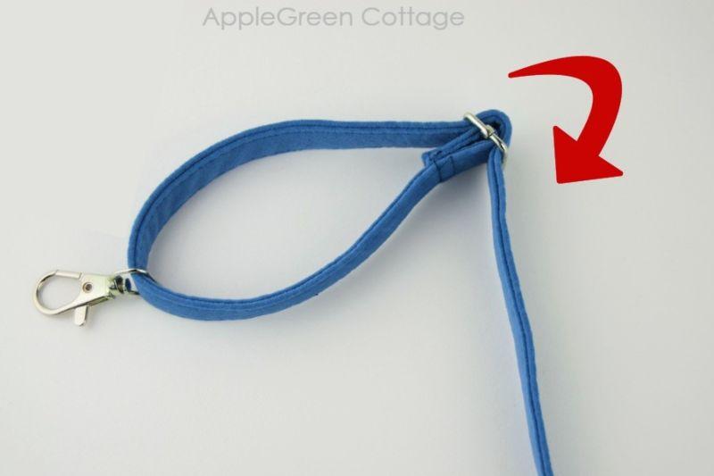sewing adjustable bag strap