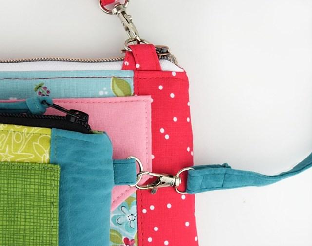 straps on diy wallet