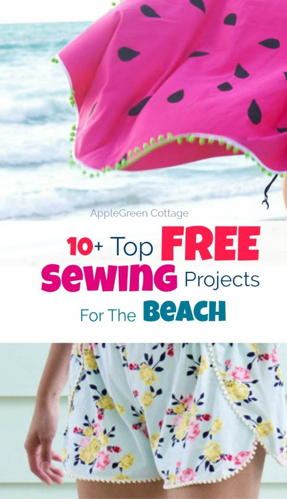 10+ Summer Sewing Patterns For The Beach