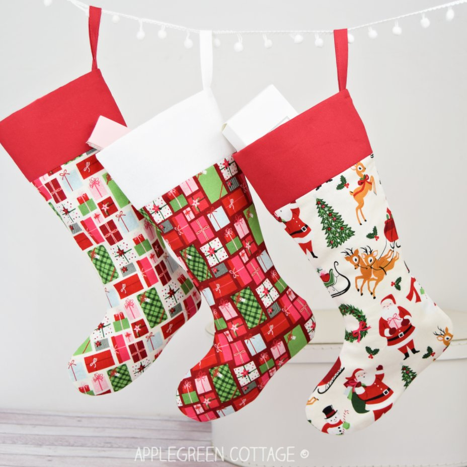 diy stocking pattern