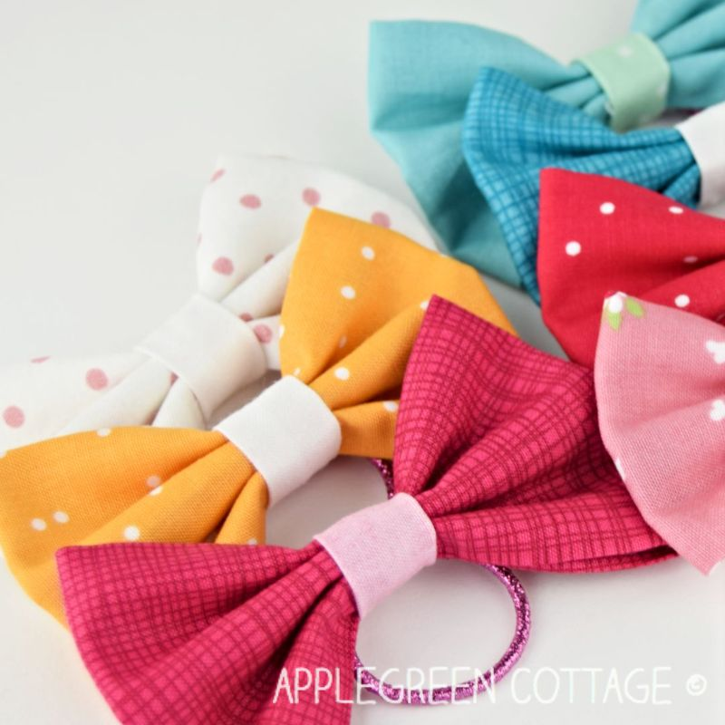 diy valentine day bows