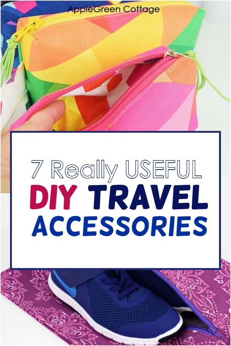 diy travel accessories to sew