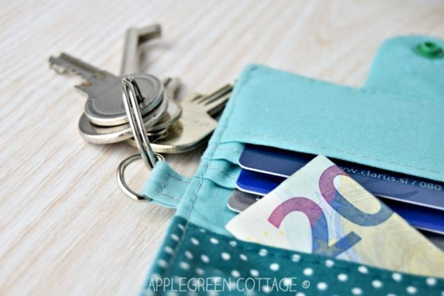 wallet pattern with keyring tab