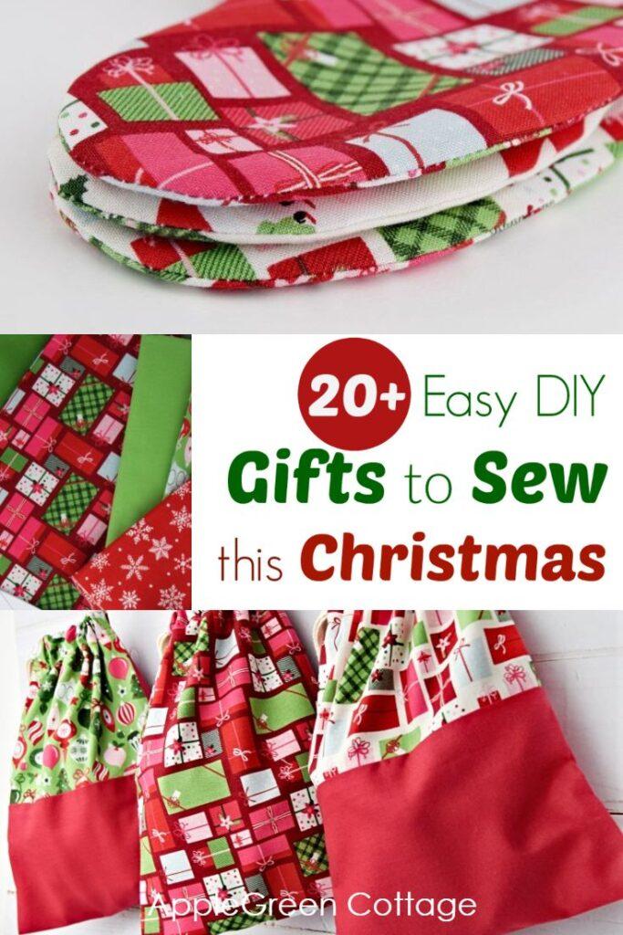 20 Easy Diy Christmas Gifts To Sew This Christmas Applegreen