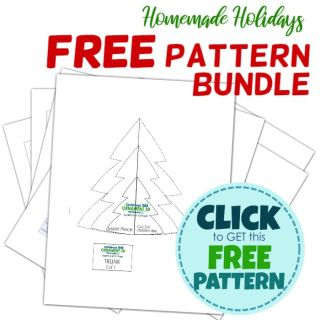 free pattern for christmas tree ornament