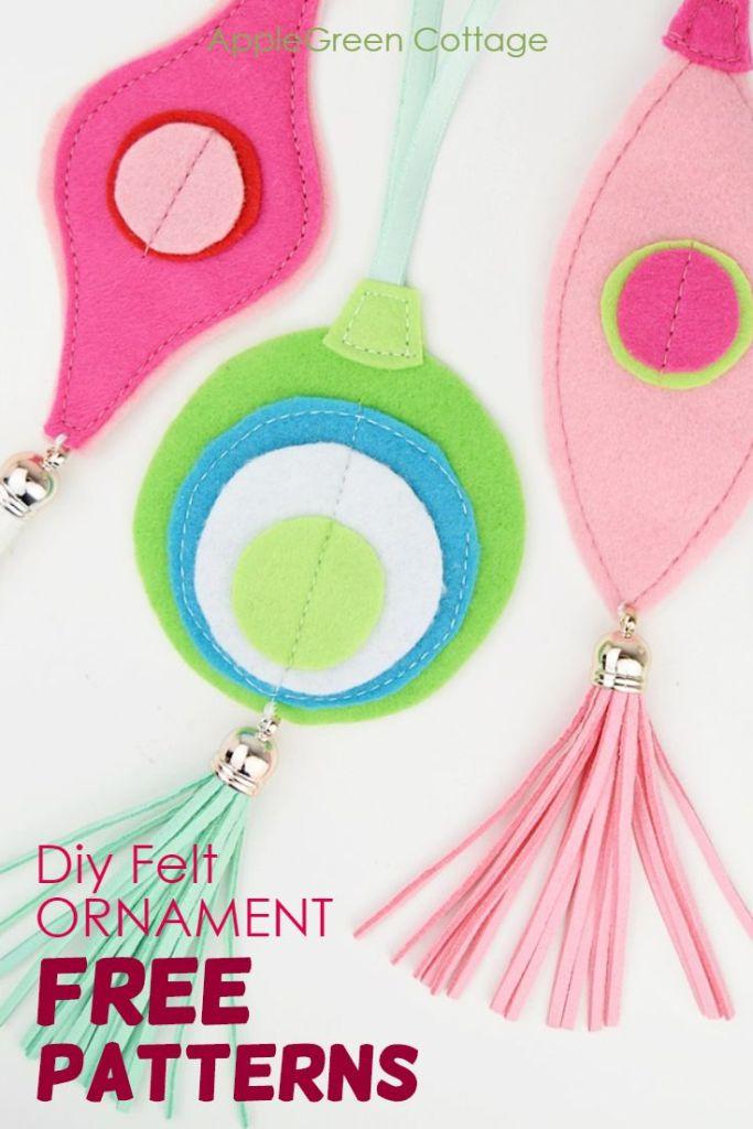 Diy Felt Ornament – Fabulosly Trendy But So Easy!