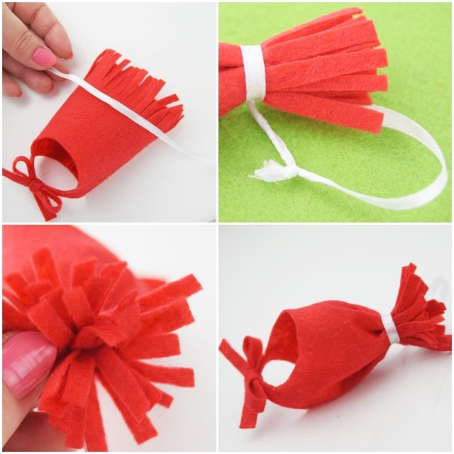 how to make hat ornaments