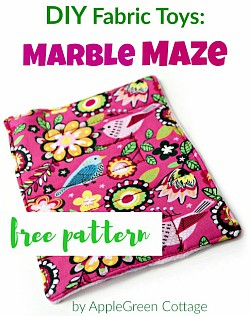 get free pattern for marble maze
