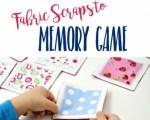 Fabric Memory Game Free Tutorial