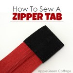 How to Sew Zipper Tabs