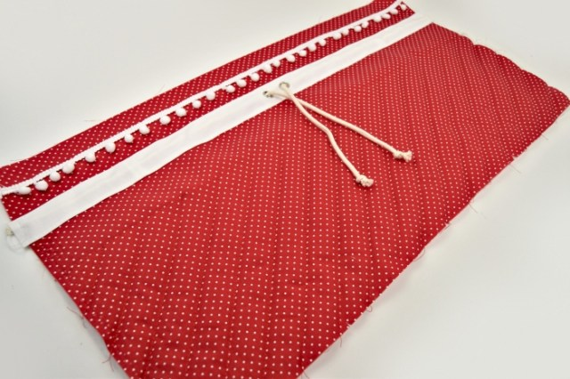 Santa bag sewing tutorial
