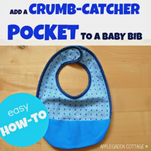 How To Make a Crumb Catcher Bib – the SMART way
