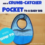 How-To Make a Crumb Catcher Bib