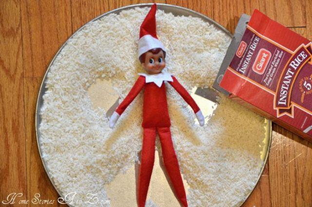 easy elf shelf ideas