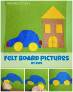 How to Make felt board pictures
