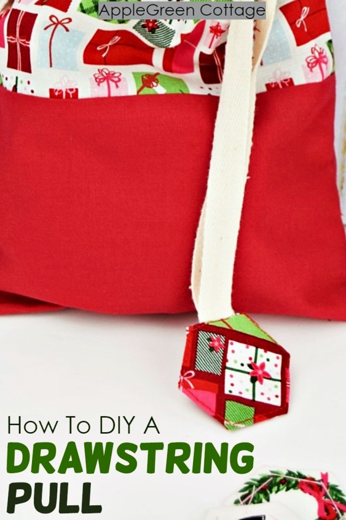 How To Diy a Drawstring Pull – Cover Drawstring Ends The Cute Way!
