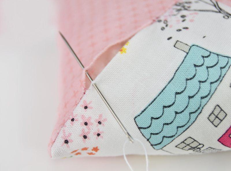 hand stitching pincushion