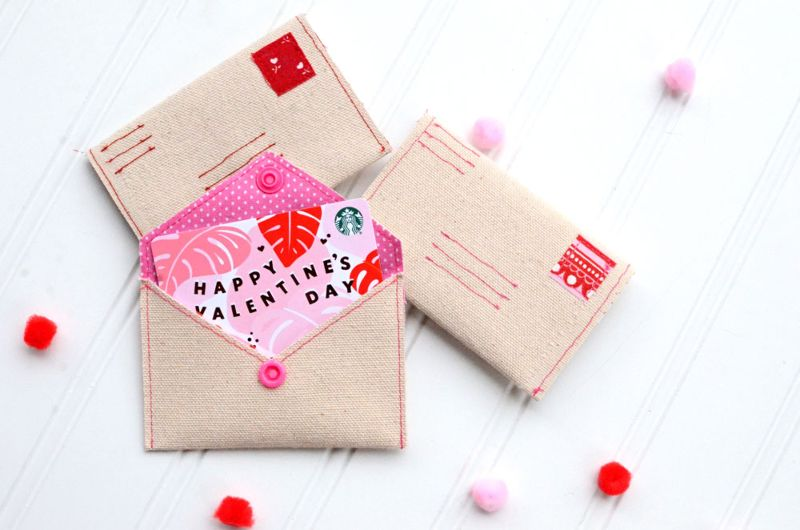 diy Valentines envelopes